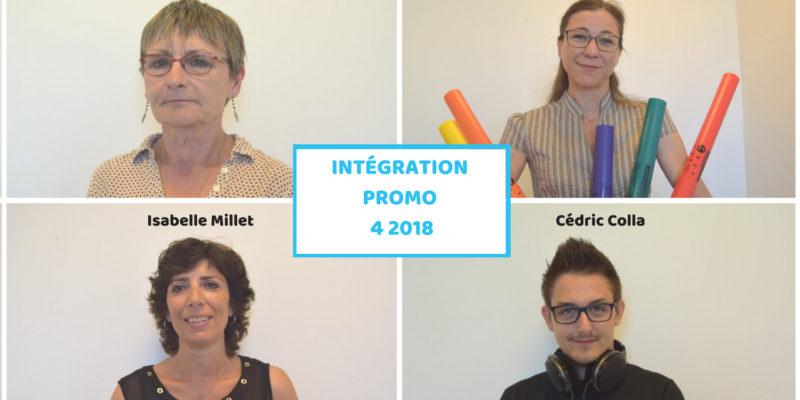 intégration promo 4 2018